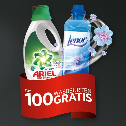 Gratis wasmiddelpakket bij AEG wasmachine