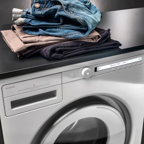 Nu €30,- kassakorting op Asko Classic wasmachine of droger