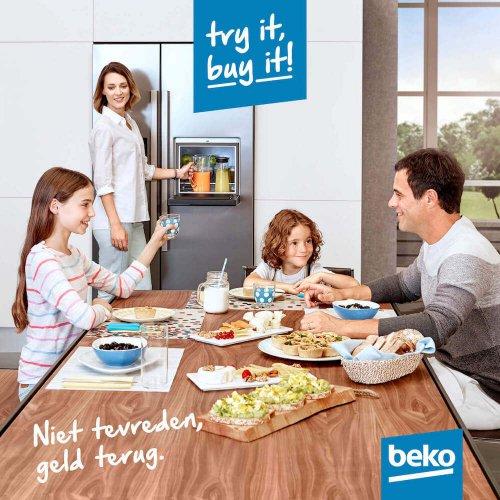 Beko: Try it, Buy it - Niet tevreden, geld terug!