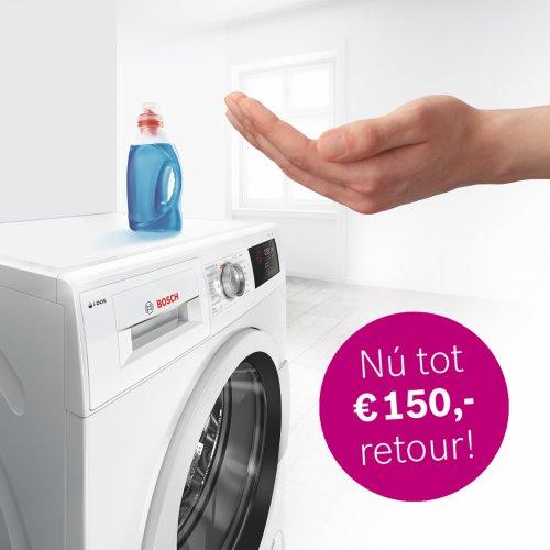 Cashback actie bij aankoop van Bosch wasmachine