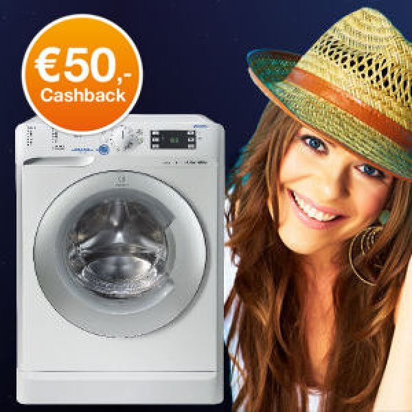 Cashback op Indesit Push & wash wasmachine
