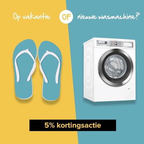 Zonnige zomeractie - 5% korting op uw bestelling