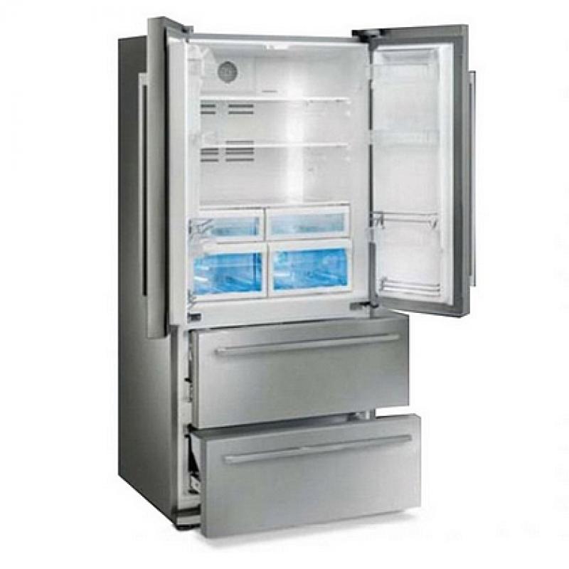 De Smeg FQ55FX French-door koelkast
