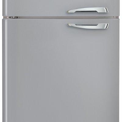 Smeg FAB50LSV Zilver retro koel-vriescombinatie
