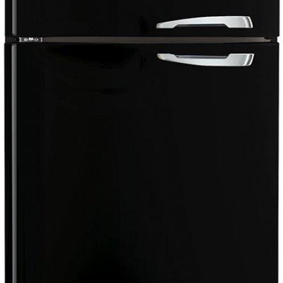 Smeg FAB50LBL Zwart retro koel-vriescombinatie