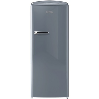 Etna KVV754ZIL Grijze Retro koelkast