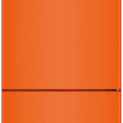 Liebherr CNno 4313 oranje koel-vriescombinatie