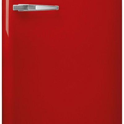 Smeg FAB28RRD3 Rood retro koelkast