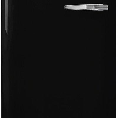 Smeg FAB28LBL3 Zwart retro koelkast