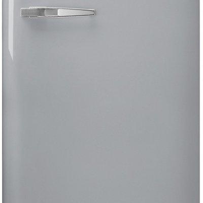 Smeg FAB28RSV3 Zilver retro koelkast
