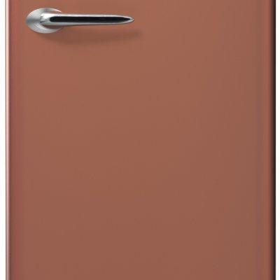 Etna KVV754KOP Koperen retro koelkast