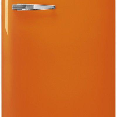 Smeg FAB28ROR3 Oranje retro koelkast
