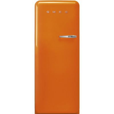 Smeg FAB28LOR3 Oranje retro koelkast